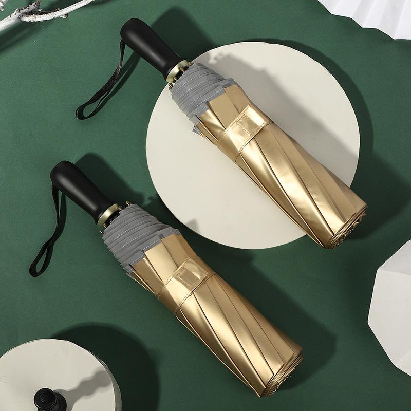 Hot sale titanium 10-bone sun and rain dual-use large sun umbrella