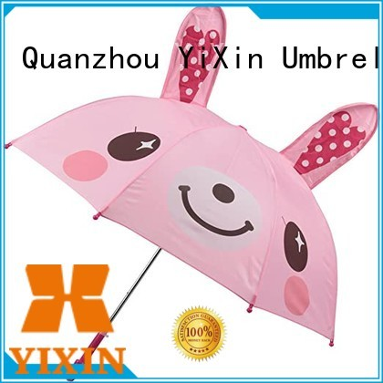 YiXin new kids pink umbrella company for kids
