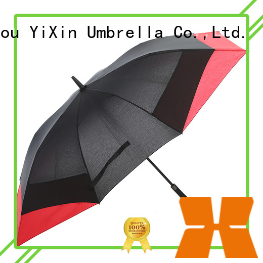 YiXin gray umbrella shaft suppliers for outdoor