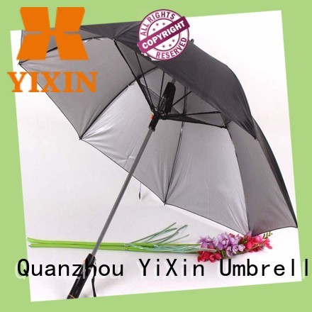 YiXin battery patio umbrella with mister company for outside