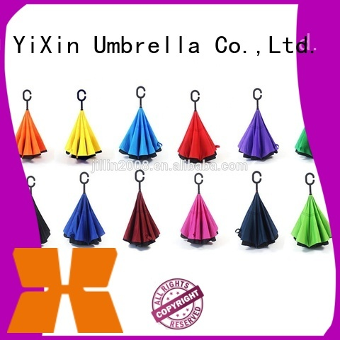 YiXin custom solar golf umbrella for women