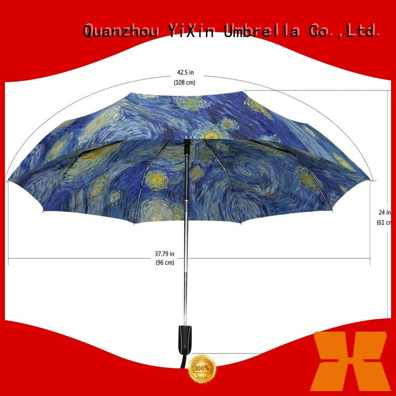 YiXin open auto open close golf umbrella suppliers for men