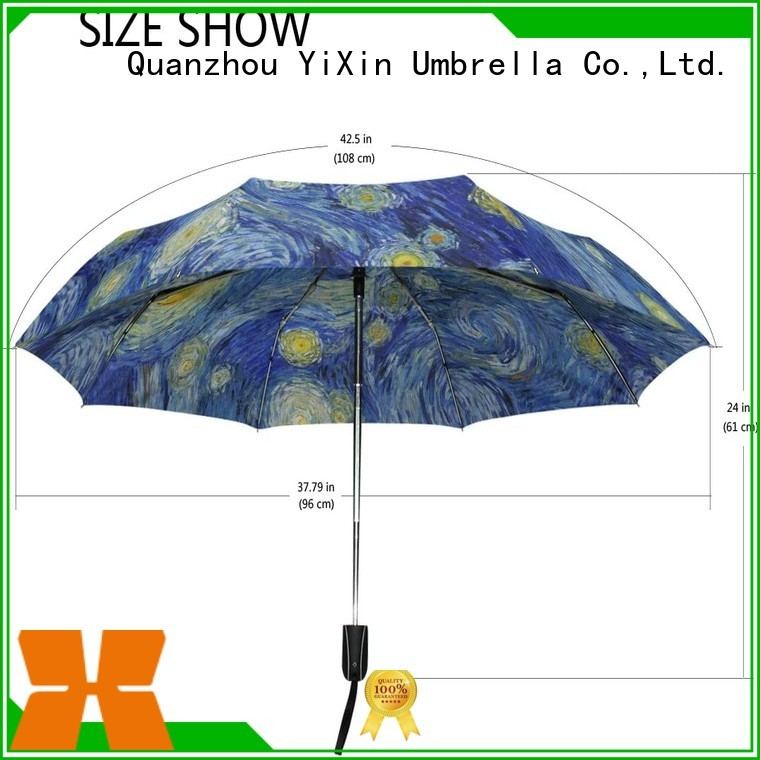YiXin portable full size travel umbrella factory for kids
