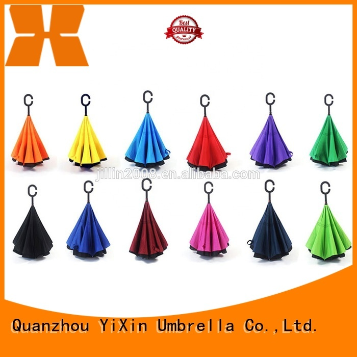 YiXin wholesale new upside down umbrella supply for men