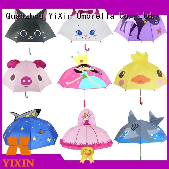 YiXin model yellow rain umbrella suppliers for outdoor