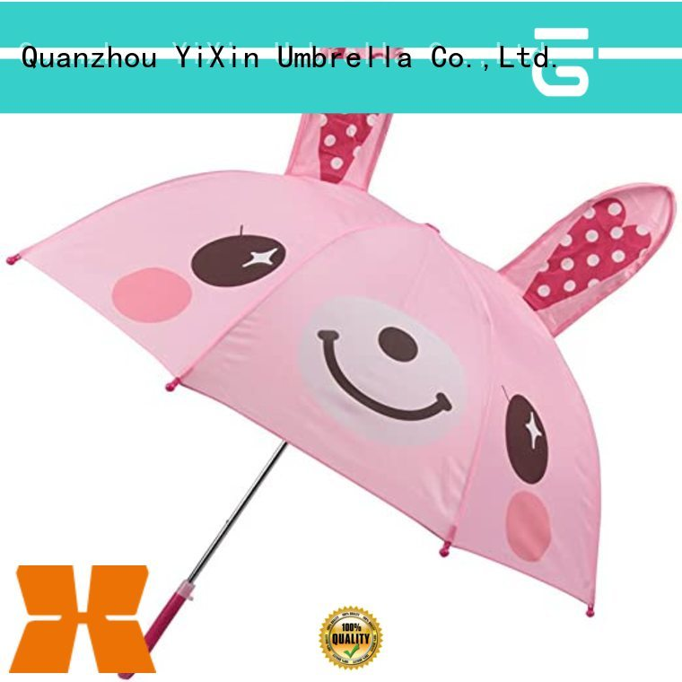 YiXin model straw outdoor umbrella for business for children