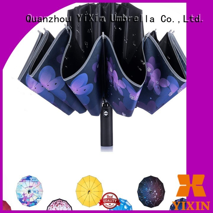 YiXin new large umbrella that folds small supply for outdoor