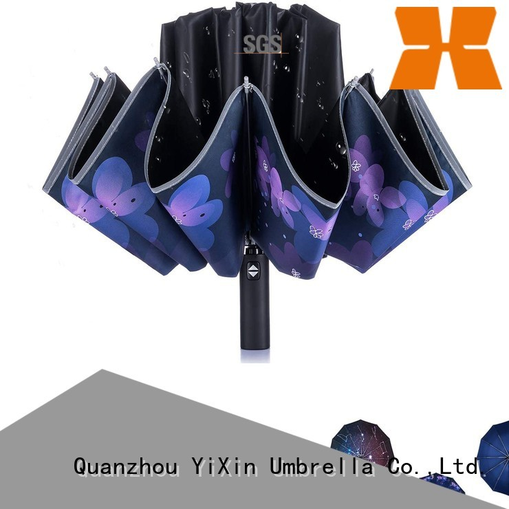 YiXin auto open close umbrella for men