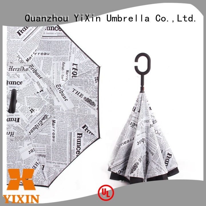 YiXin wholesale reverse open close umbrella for business for kids