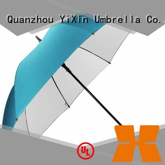 YiXin silver best uv golf umbrella suppliers for outdoor