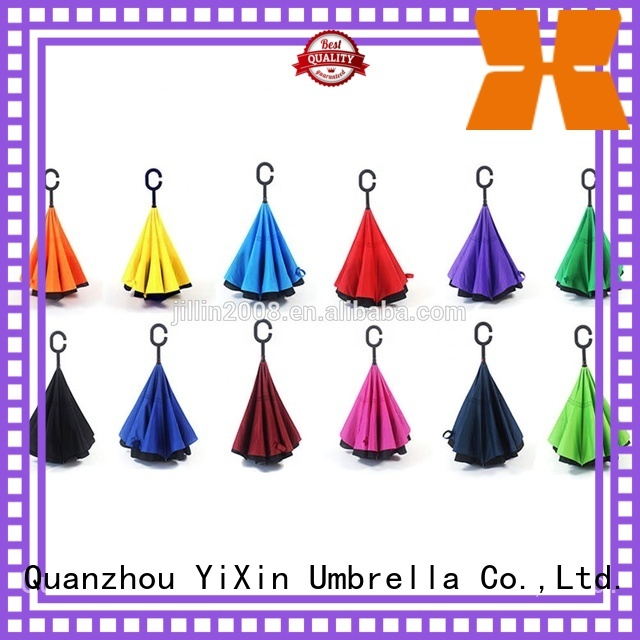 YiXin rain new reversible umbrella for business for men
