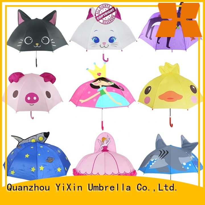 custom childrens umbrellas 3d for business for outside