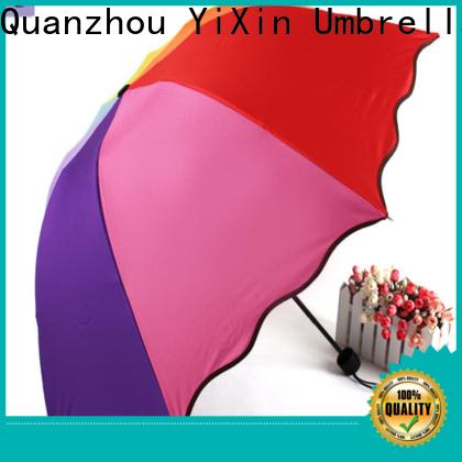 YiXin Umbrella strong folding umbrella suppliers for men