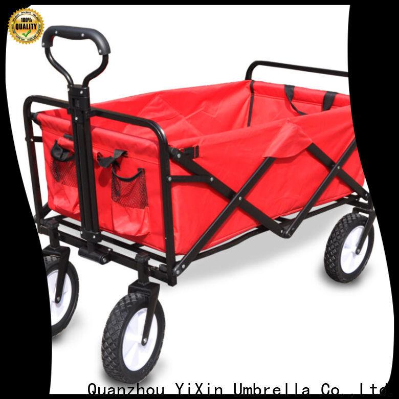 YiXin Umbrella foldable camping cart for business